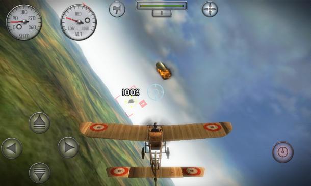 Auch Luftschiffe sind in Sky Gamblers legitime Ziele.