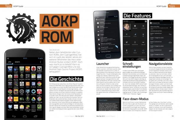 Tipps: AOKP ROM