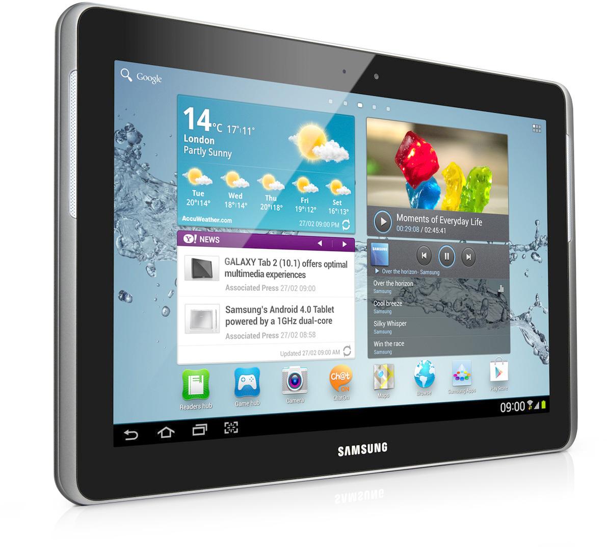 Samsung galaxy tab 2 10 1 im test