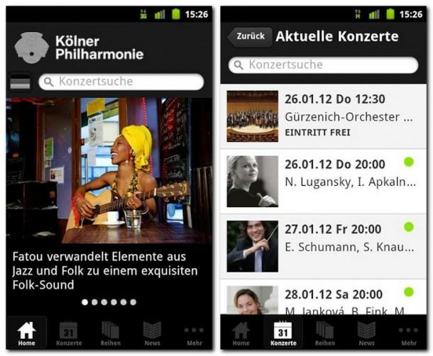 Termine und Hintergrundinformationen auf einen Blick. Die App macht es leicht, Kultur zu entdecken.
