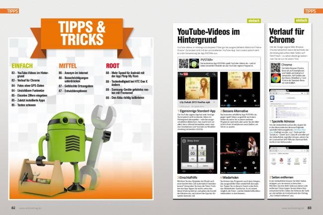 Tipps & Tricks (2 von 8 Seiten)