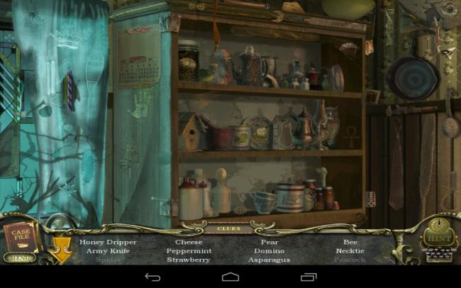 """Das Spiel """"Mystery Case Files: Return to Ravenhearst"""" wartet mit Dutzenden von Wimmelbildern auf."""