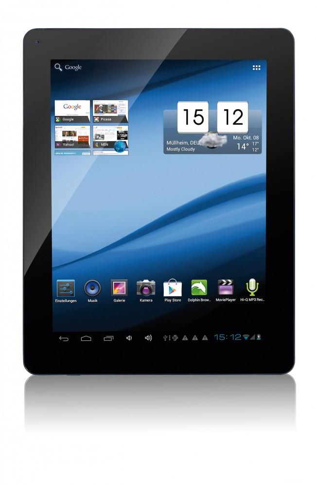Das TouchLET setzt auf IPS-Technologie und ein arbeitstaugliches Seitenverhältnis. (Bildquelle: Pearl)