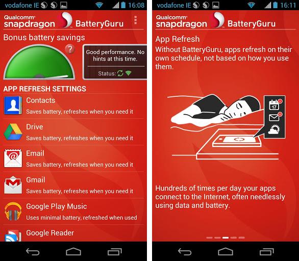 Der Batteryguru von Qualcomm soll die Akkulaufzeit des Smartphones verlängern.