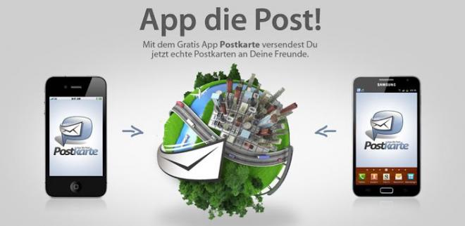 App Postkarte