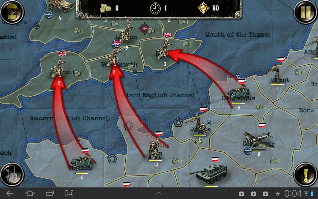online kriegsspiele strategie