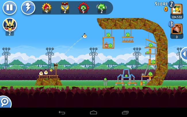 textAngry Birds Friends ist eine gelungene Umsetzung des bewährten Erfolgsrezeptes.
