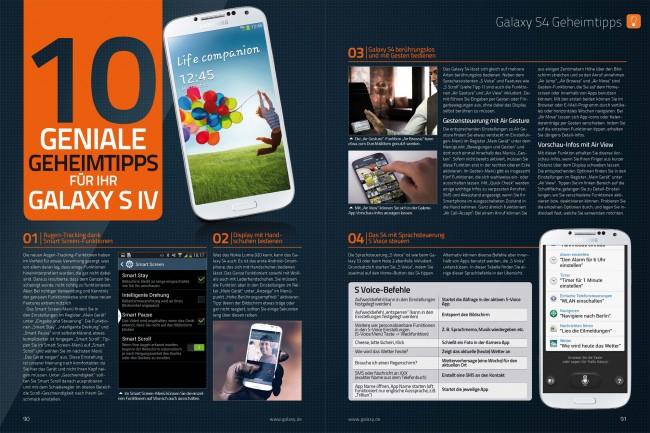 10 geniale Geheimtipps für Ihr Galaxy S4 (2 von 4 Seiten)