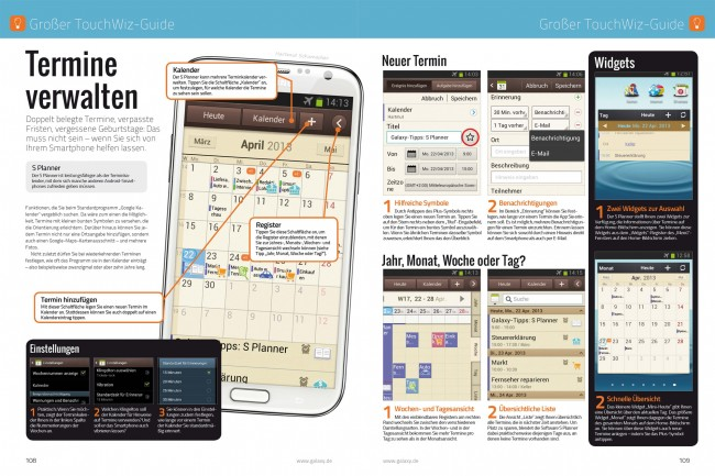 Der große TouchWiz-Guide (2 von 16 Seiten)