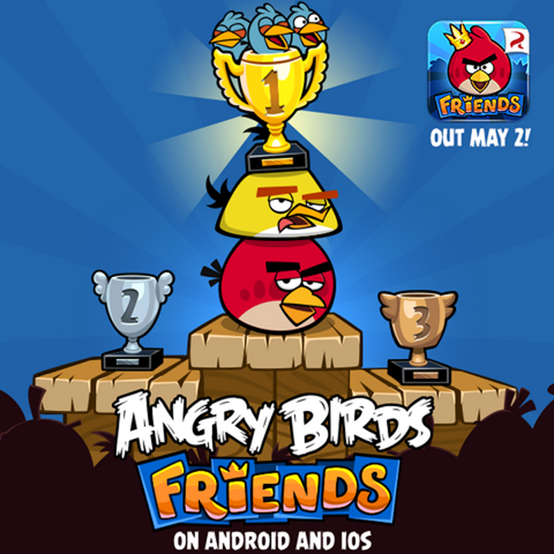 Angry Birds Friends: Mehrspieler-Variante von Angry Birds ...