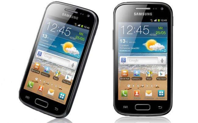Die NFC-Version des Galaxy Ace 2 bekommt ein Update auf Android 4.1 Jelly Bean. Foto: Samsung.