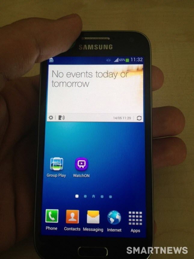 """Eines der Bilder zeigt das Telefon """"in Aktion"""". Bildquelle: AndroidAuthority"""