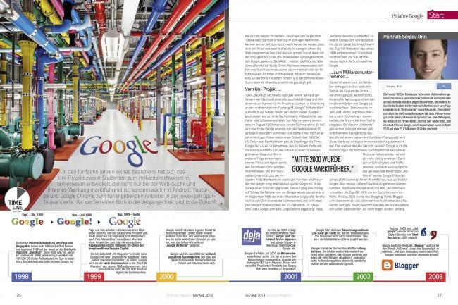 Google-Report (2 von 6 Seiten)