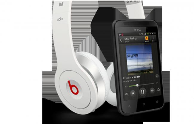 Auch das HTC Desire 200 hat die Klangoptimierung von Beats Audio mit an Board.