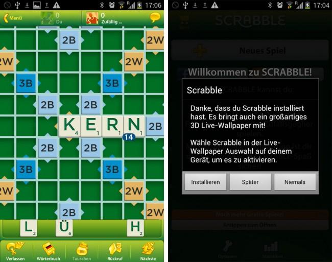 Kostenlos Scrabble
