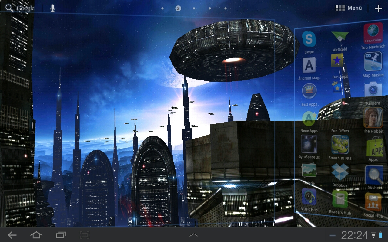 Space Colony Wallpaper images