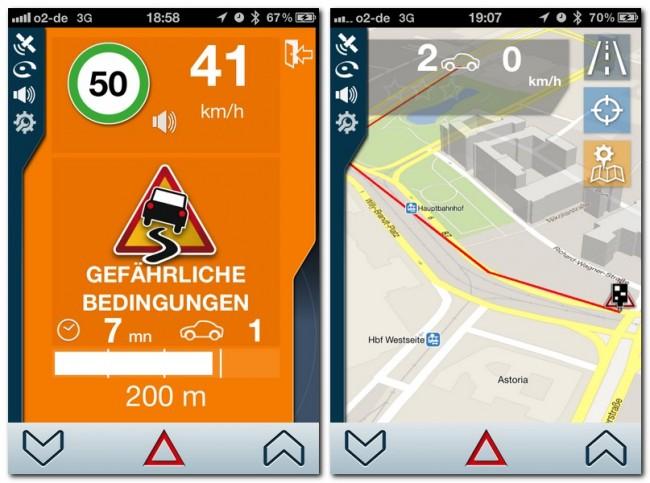 Die neue Version erlaubt es dir, gefährliche Straßenbedingungen zu melden. Darüber hinaus kann sie einige Innenstädte dreidimensional darstellen.