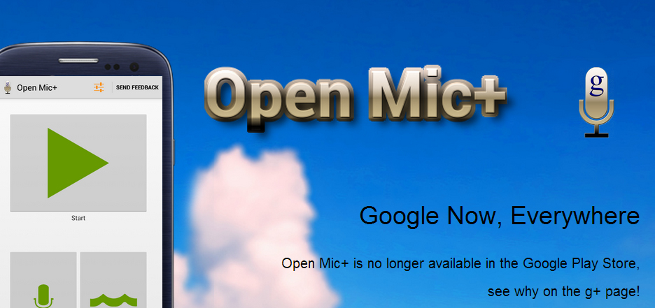 how to open google now