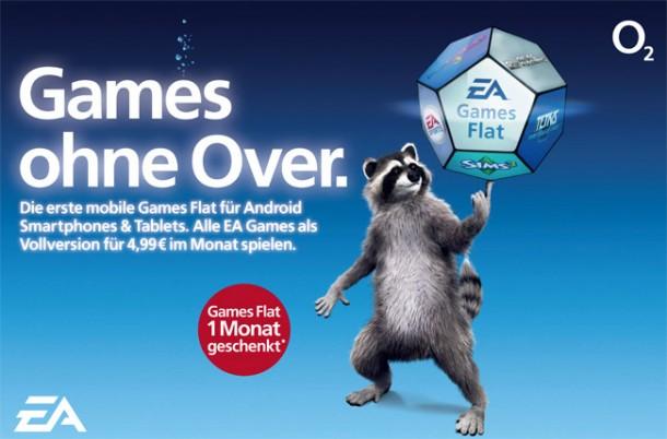 EA und O2 bieten gegen einen Aufpreis von 4,99 Euro eine Spiele-Flatrate an. (Foto: Telefonica)