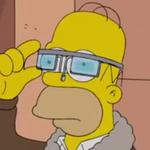Die Simpsons nehmen Google Glass aufs Korn