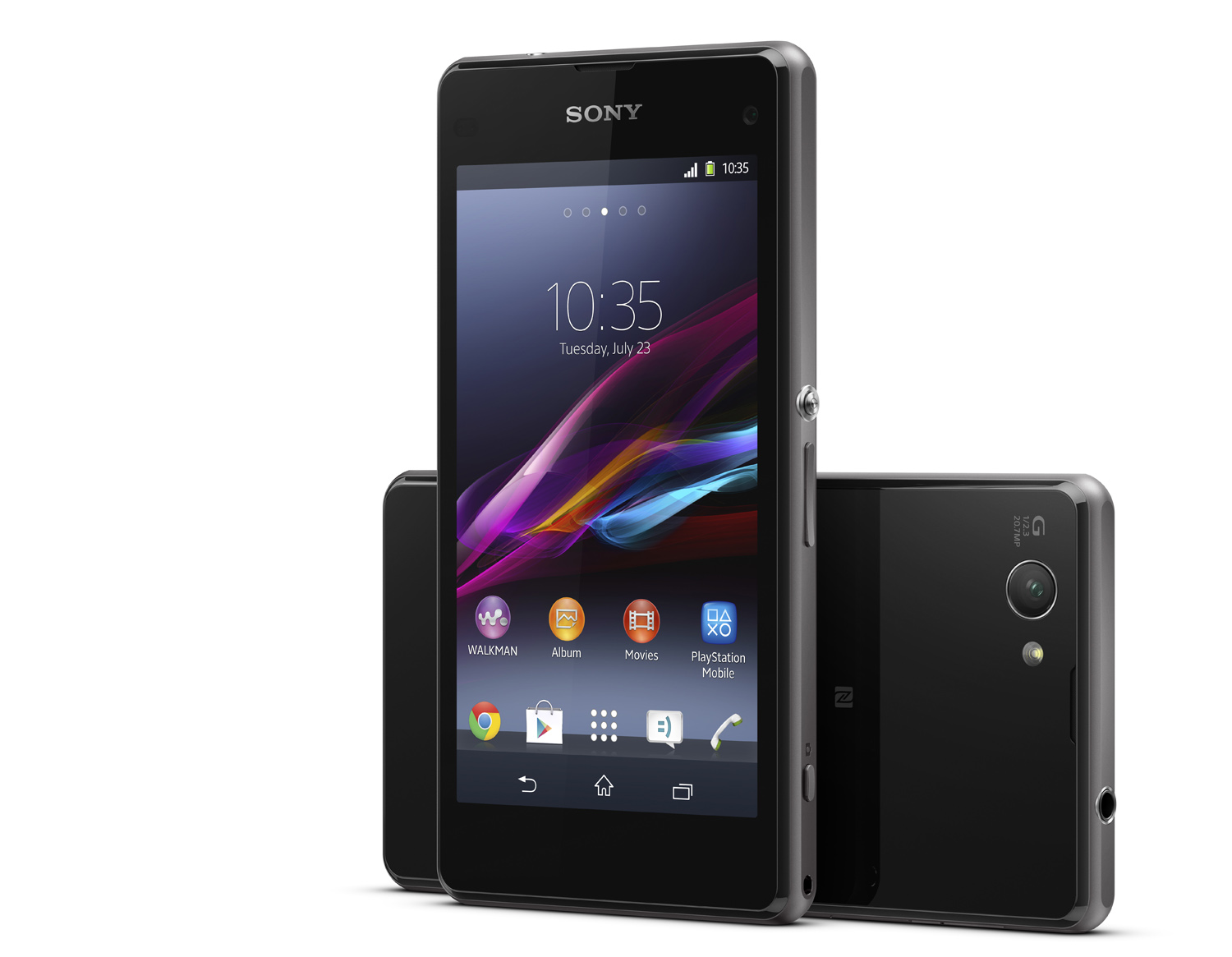 sony xperia z1 compact handliches highend smartphone mit. Black Bedroom Furniture Sets. Home Design Ideas