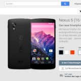 Play Store: Nexus 5 und Nexus 7 (2013) ab sofort auch in Österreich bestellbar