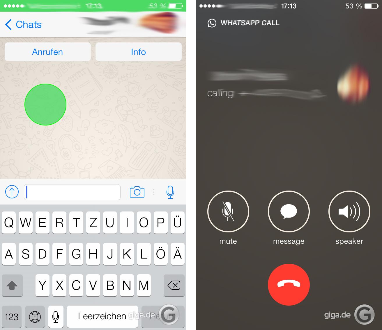 whatsapp erste screenshots der telefoniefunktion aufgetaucht. Black Bedroom Furniture Sets. Home Design Ideas