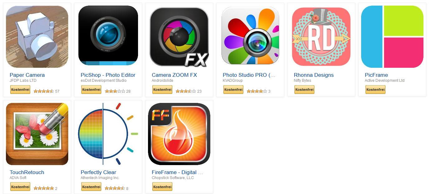 amazon bietet heute wieder neun foto apps mit zus tzlichen 100 amazon coins an. Black Bedroom Furniture Sets. Home Design Ideas