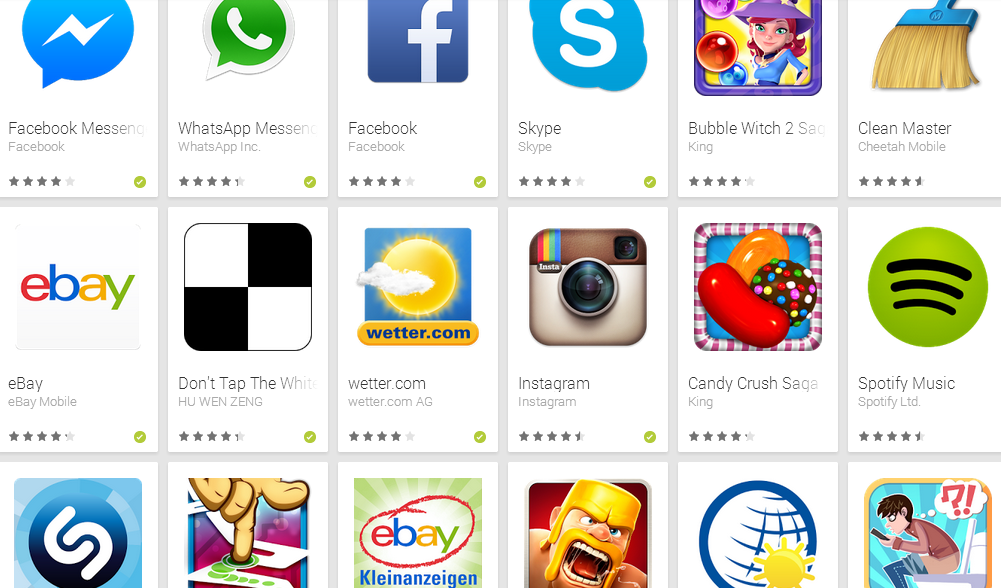 play store apps laden nicht