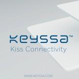 Kiss: Neue Technologie macht es möglich große Datenmengen mit einer Berührung zwischen zwei Geräten in Sekundenschnelle austauschen