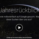Google-Rückblick: Das war das Jahr 2014 aus sicht der Suchmaschine
