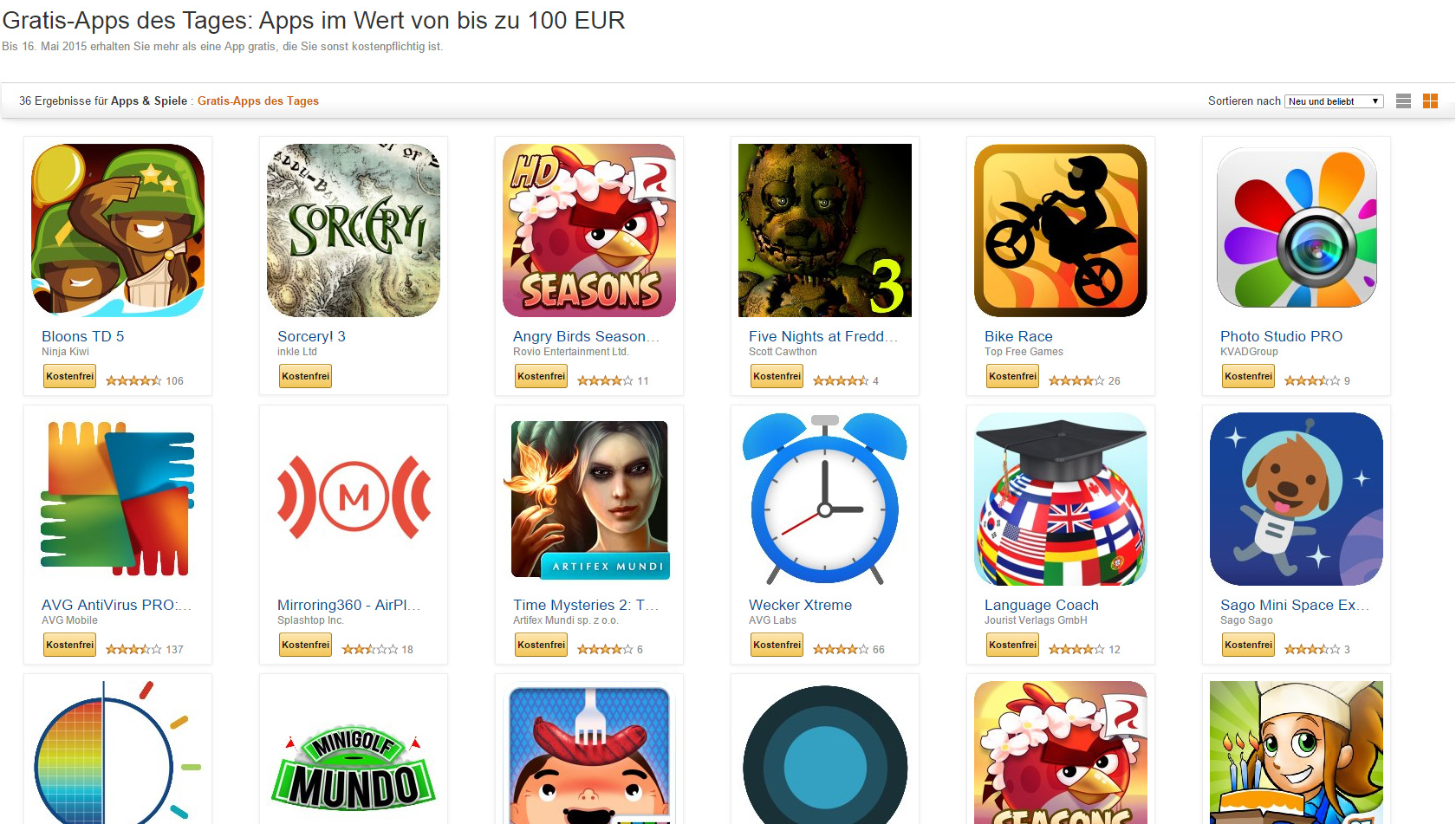 amazon gratis apps apps im wert von 100 euro gibts heute kostenlos