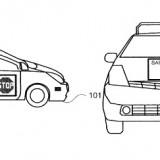 Google Patent lässt selbstfahrende Autos mit Fußgängern kommunizieren