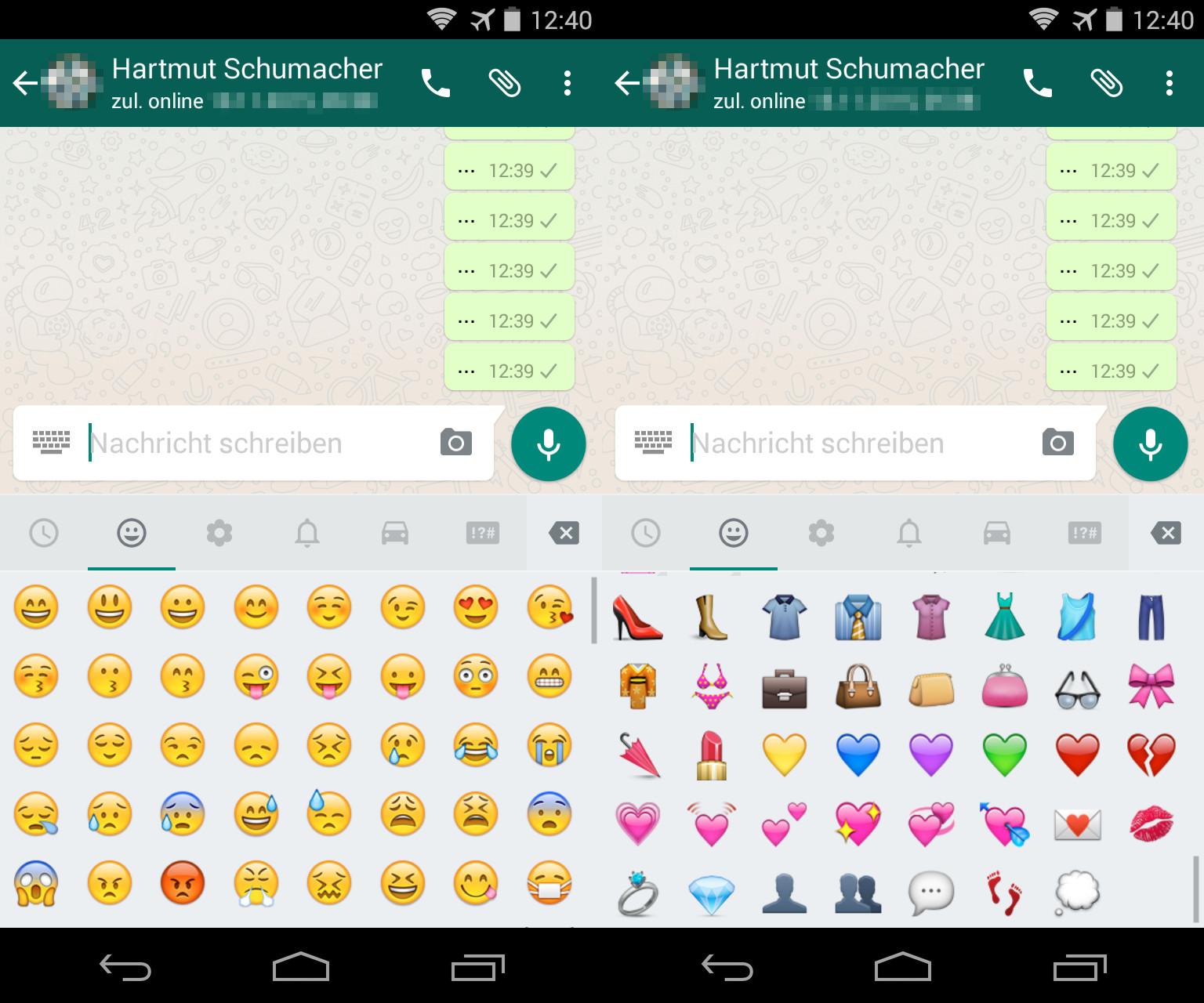 Die Android-Version von WhatsApp hinkt ihrem iOS