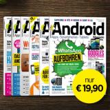 Android Magazin Jahresabo-Aktion!