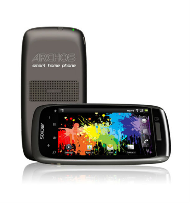 Das 3S Smart Home Phone von Archos ist ein Schnurlostelefon mit Android Betriebssystem. Foto: Archos.