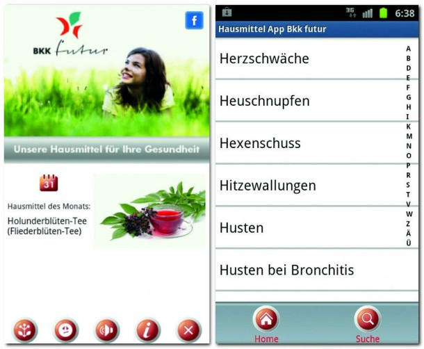 Die Hausmittel App ist in vielen Situationen ein nützliches Tool zum Finden von alternativen Behandlungsmethoden.