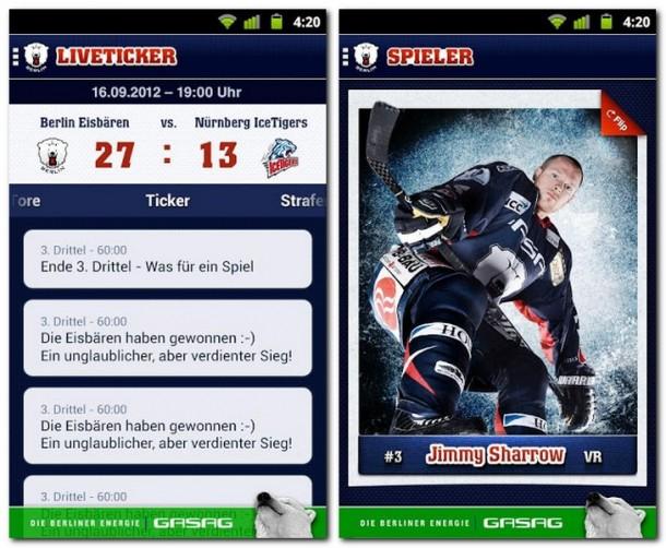 Aktuell und auf dem Punkt: Alle Informationen werden den Fans umgehend zur Verfügung gestellt. Im Liveticker sogar in Echtzeit.