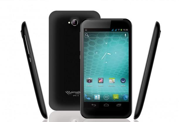 Das SPX-12 ist ein sehr preiswertes Handy mit Riesenbildschirm - zusätzlich gibt es einen zweiten SIM-Slot (Bildquelle: Pearl)