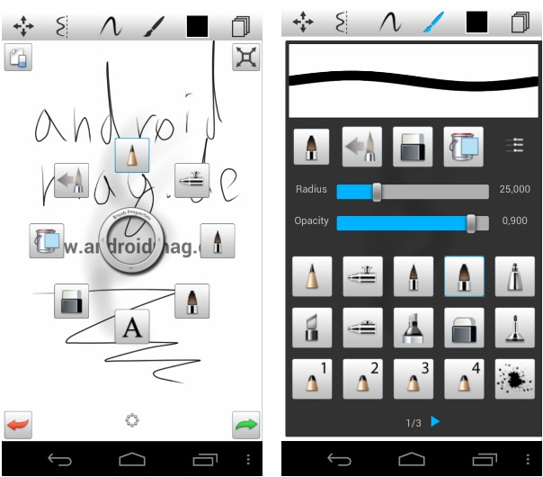 Sketchbook Mobile Android Screenshot 1