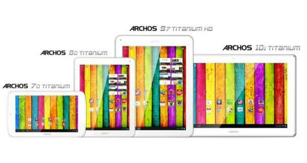 Alle 4 neuen Modelle von Archos kommen mit Android 4.1 Jelly Bean auf den Markt. Foto: Androidauthorithy.com