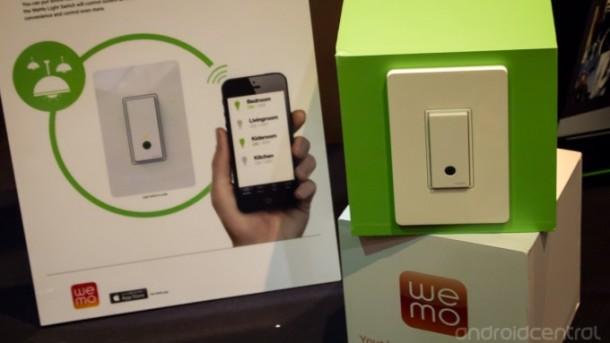 Belkin hat auf der CES einen neuen Lichtschalter vorgestellt (Bildquelle: AndroidCentral)