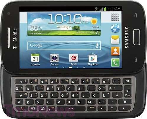samsung galaxy s relay neues smartphone mit physischer. Black Bedroom Furniture Sets. Home Design Ideas