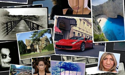 Die Bilder lassen sich mit einigen vordefinierten Effekten und Rahmen noch bearbeiten, so verwandelt man jedes Bild in ein individuelles Kunstwerk.