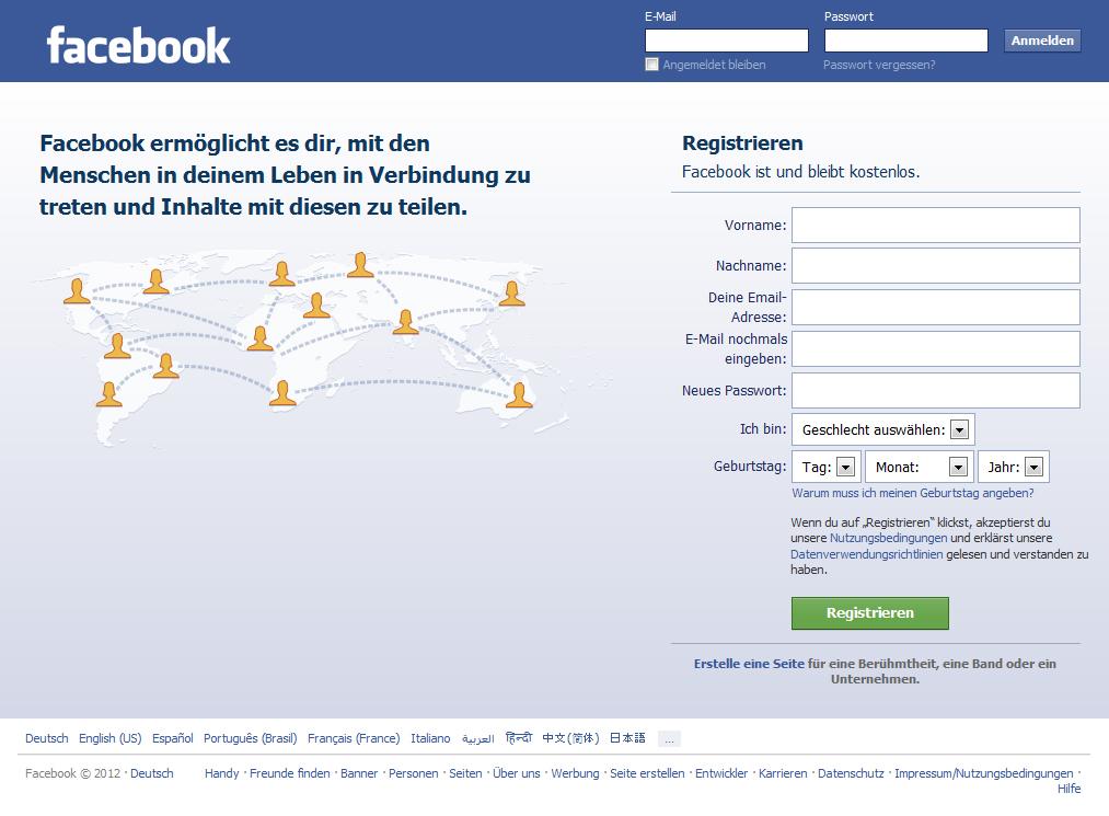 facebook com login m