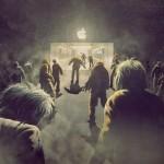 Tatsache: Menschen werden für das Campieren vor den Apple Stores bezahlt