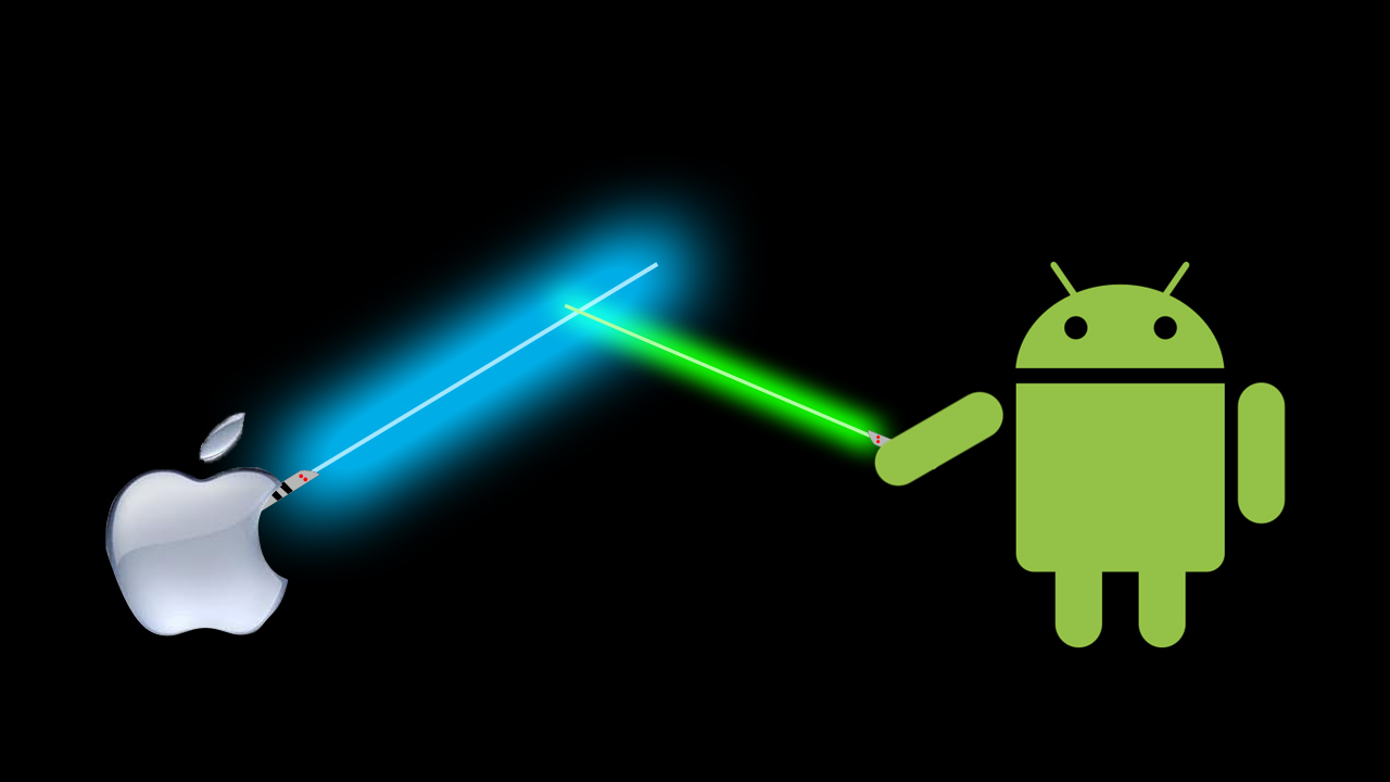Apple Android Lightsaber