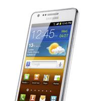 Samsung Galaxy S II ganz in Weiß