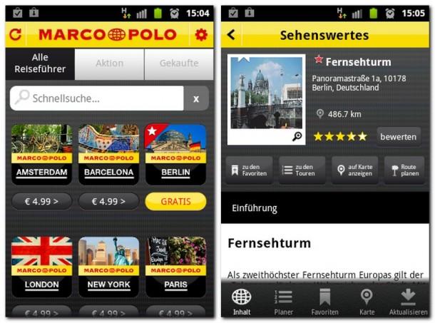 Mit dem Marco Polo Travel Guide haben Sie einen nützlichen Reiseführer immer bei der Hand.